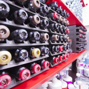 Photographie des produits dans le salon de coiffure David Art'Coiffure