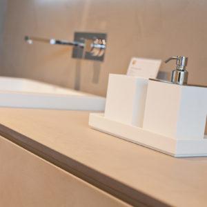 Photographie d'un distributeur de savon