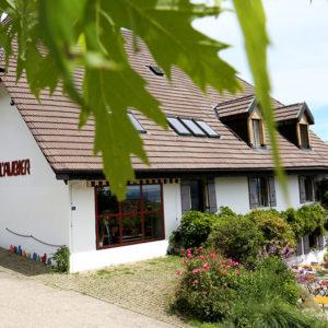 Photographie du restaurant de l'Aubier à Montezillon